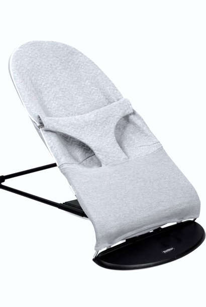 Protective cover for the BabyBjörn bouncer Chevron Light Grey Melange