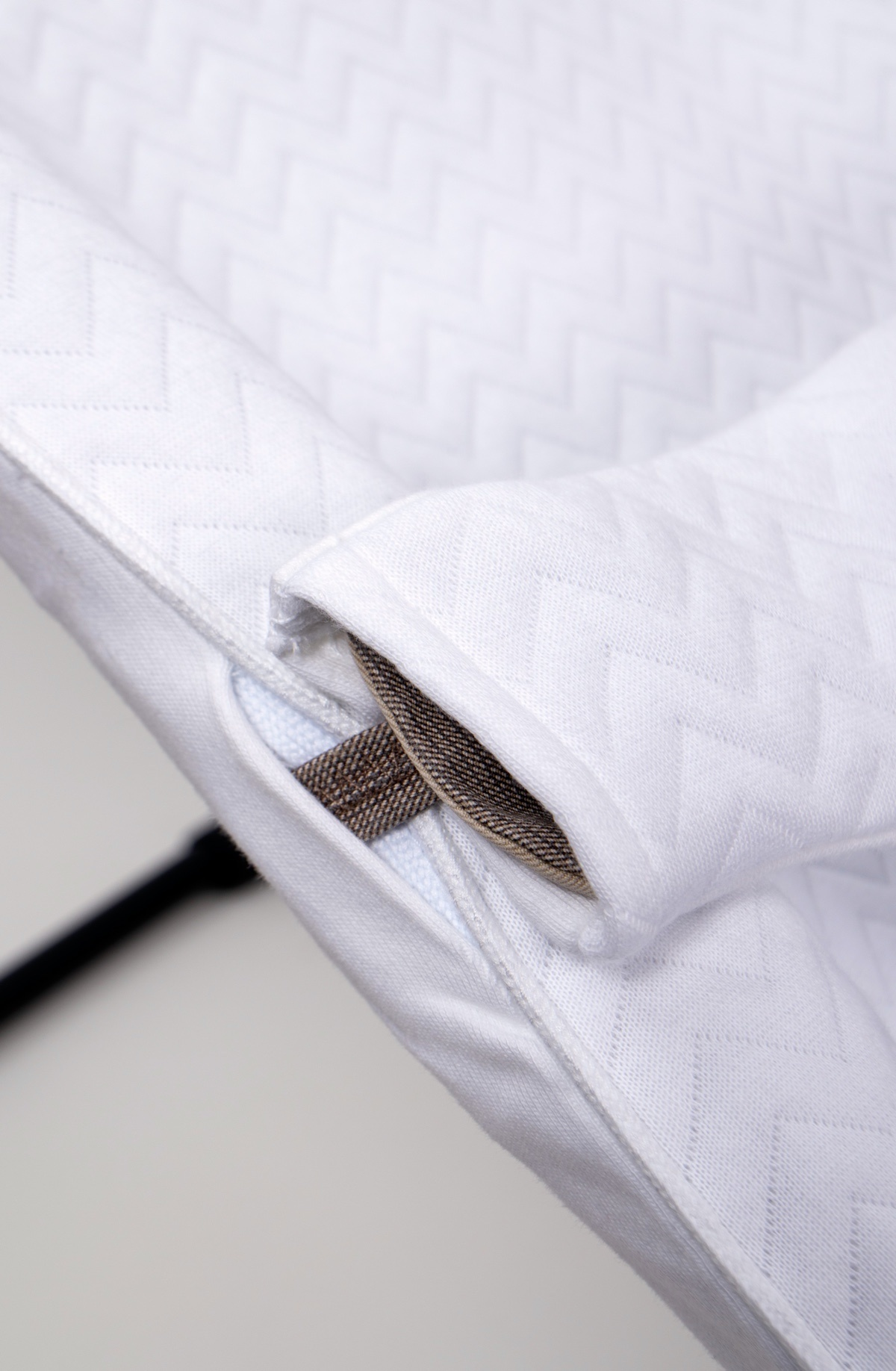 Protective cover for the BabyBjörn bouncer Chevron White-3