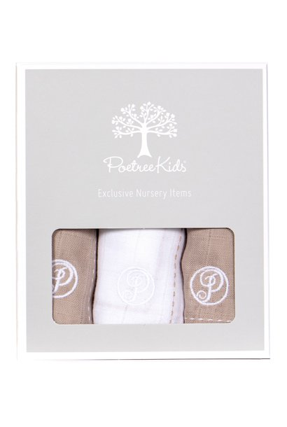 Hydrophilic cloths (nappies) Camel & White