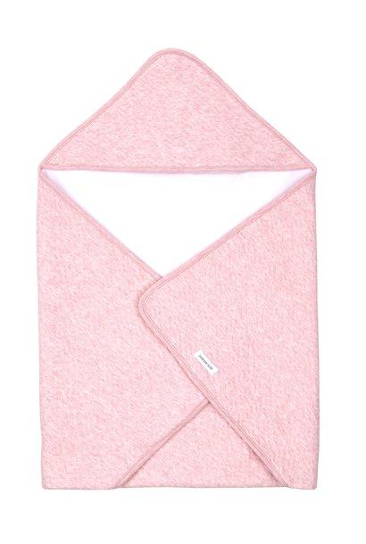 Couverture enveloppante Chevron Pink Melange
