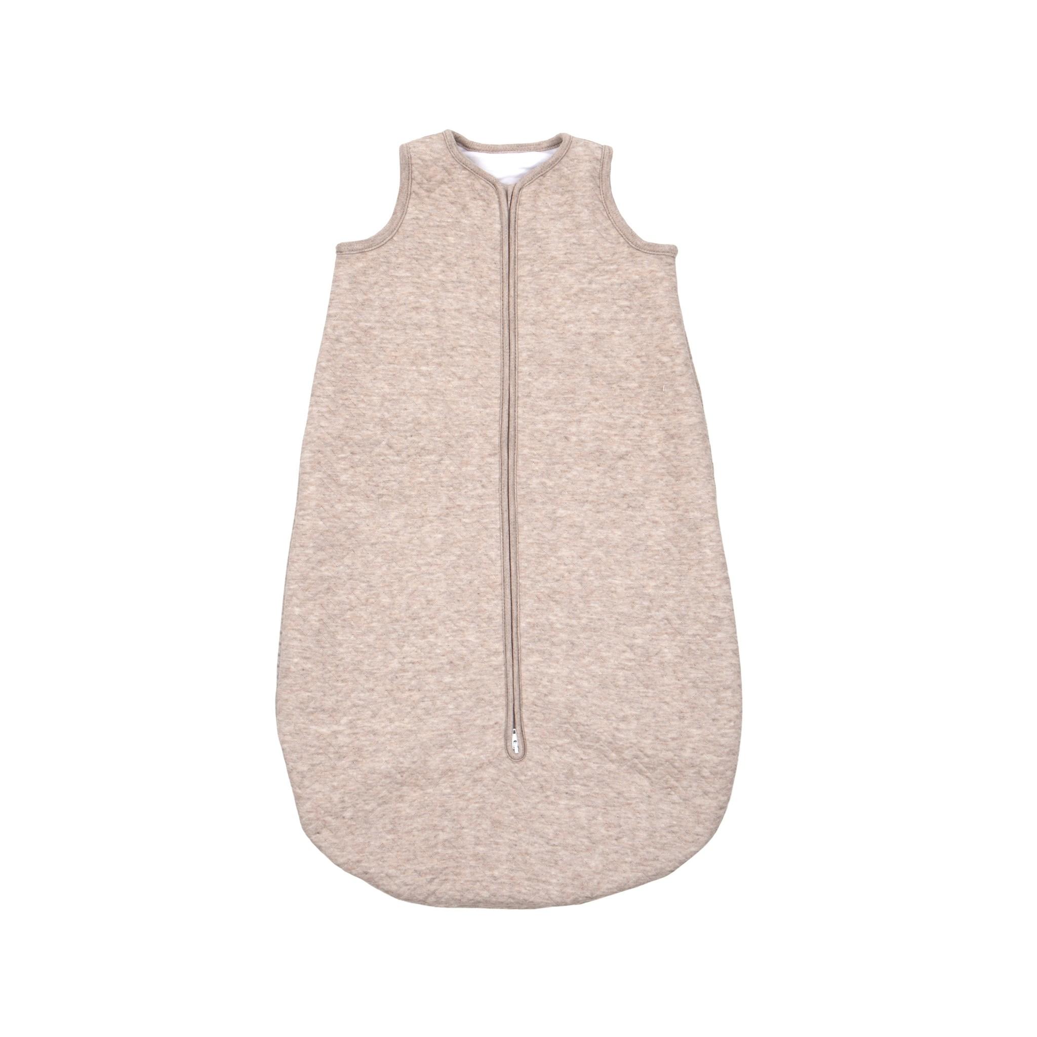 Sac de couchage en jersey 70cm Été Chevron Light Camel-1