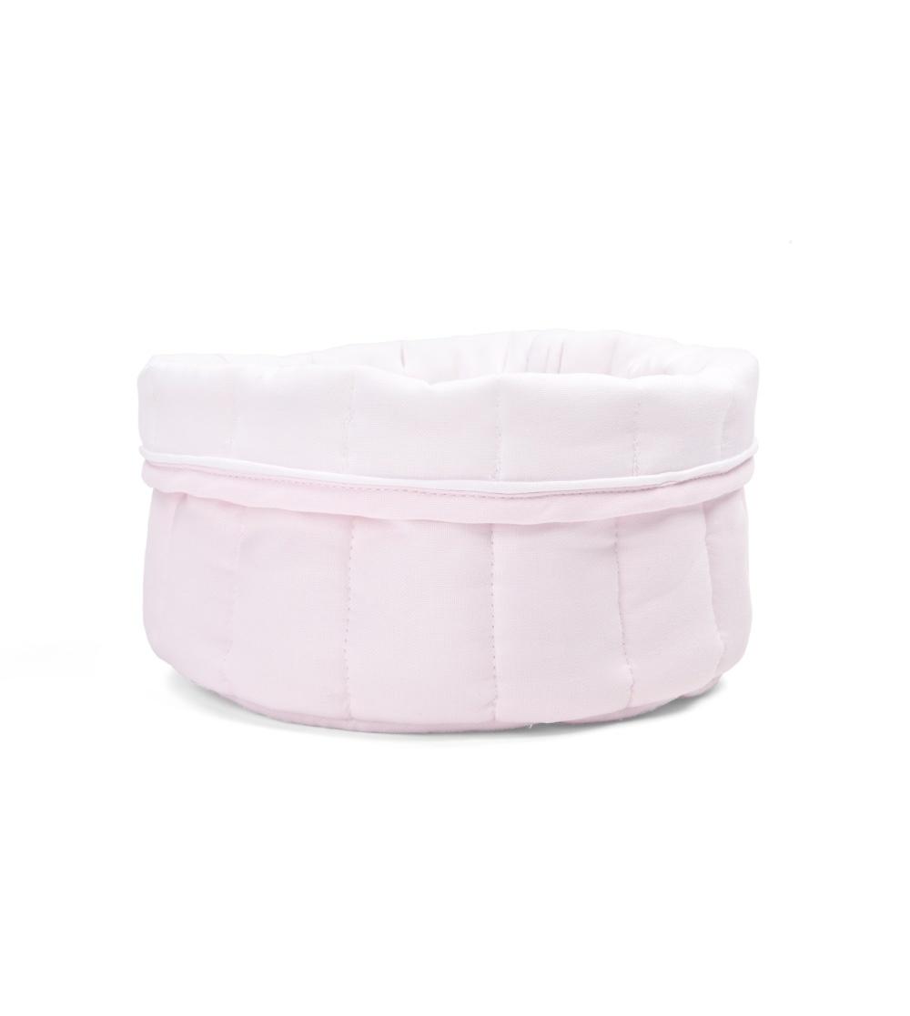 Commodemandje Oxford Soft Pink-1