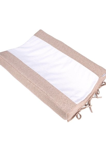 Changing mat cover Chevron Light Camel