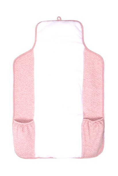 Portable changingmat Chevron Pink Melange