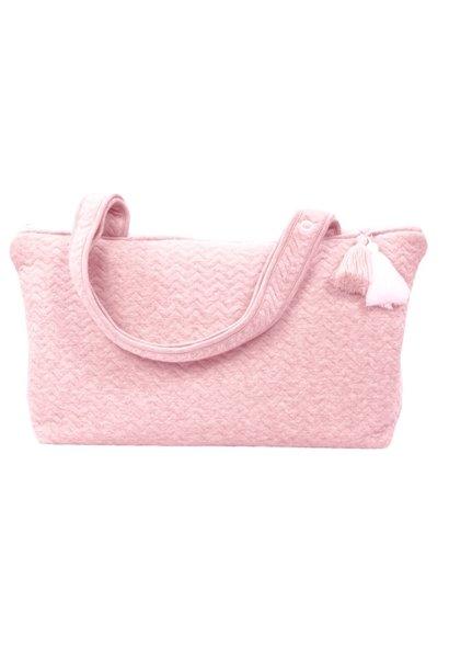 Nursery bag Chevron Pink Melange