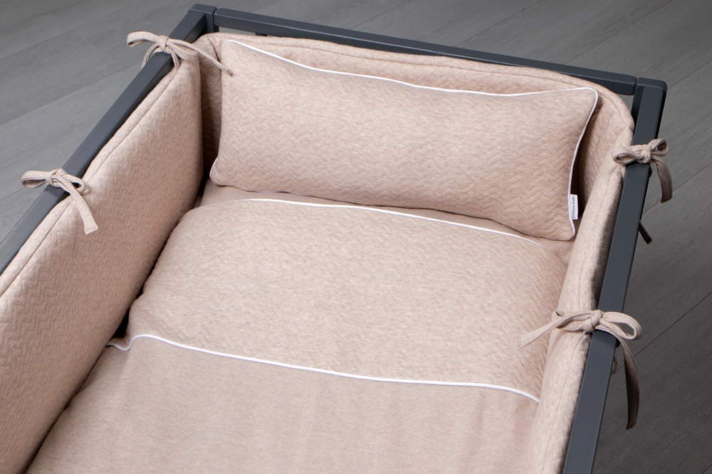 decoration Pillow Chevron Light Camel-4