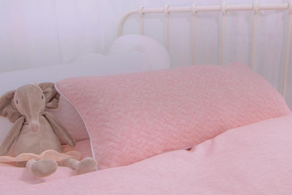 Decoratie kussen Chevron Pink Melange-4