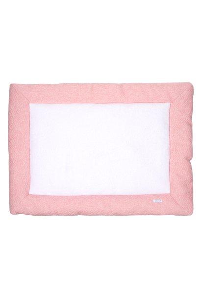 Playpen mat Chevron Pink Melange