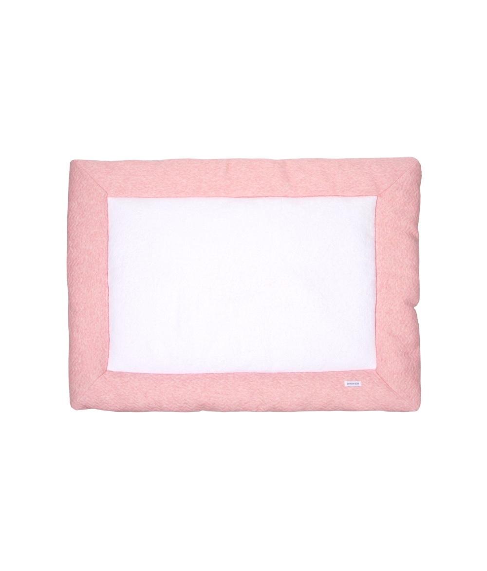 Boxkleed Chevron Pink Melange-1
