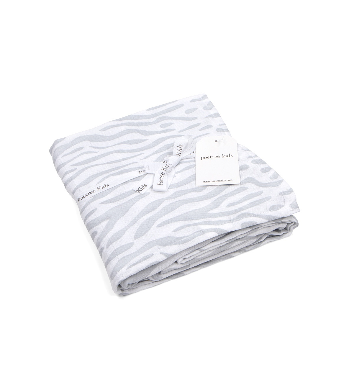 Swaddle doek 120x120cm Zebra print-1
