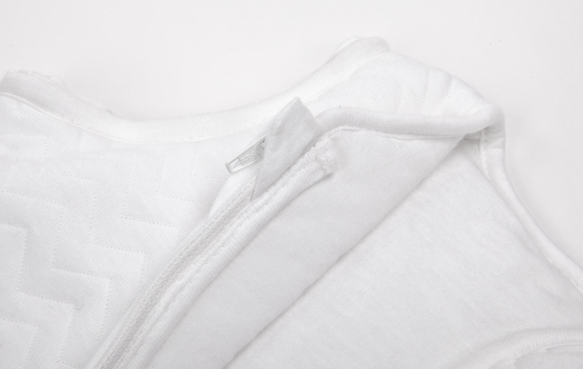 Jersey sleeping bag 70cm Summer Chevron White-3