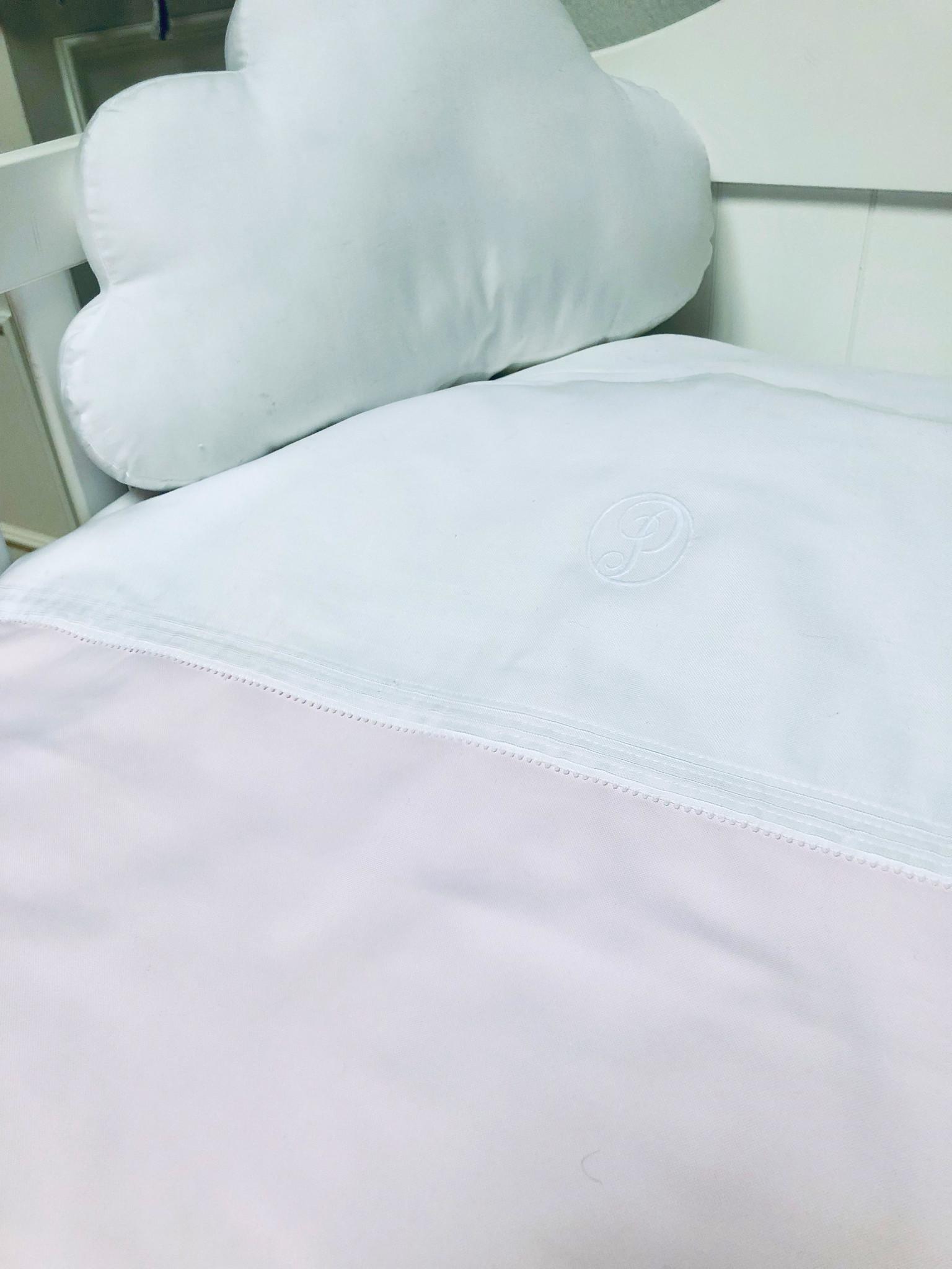 Duvet Cover & Pillow case Oxford Soft Pink-4