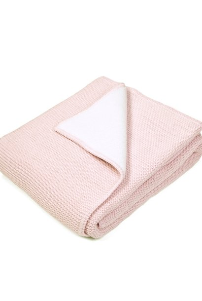 Baby Crib Blanked Powder Pink