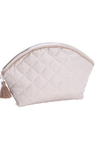 Toiletry bag Oxford Taupe