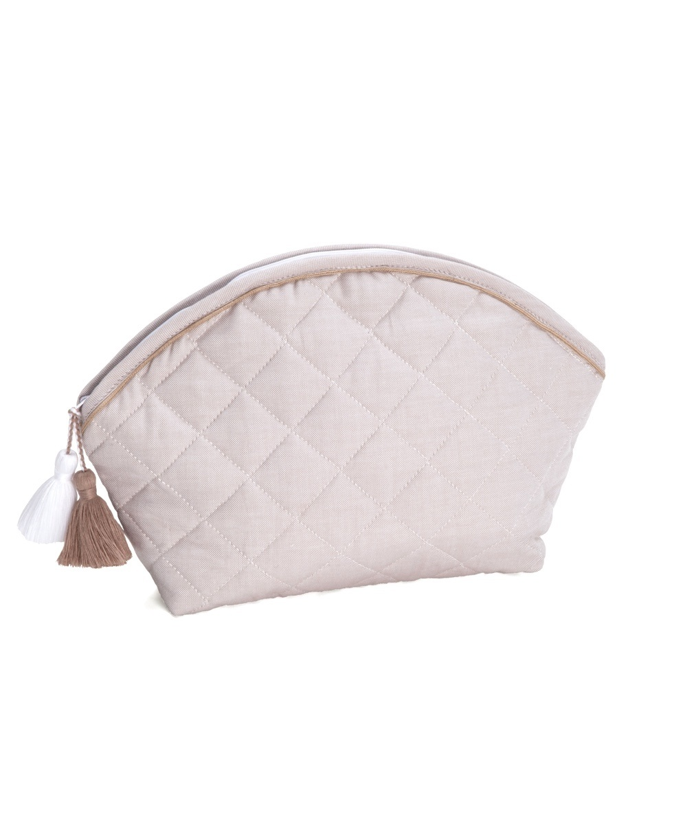 Toiletry bag Oxford Taupe-1