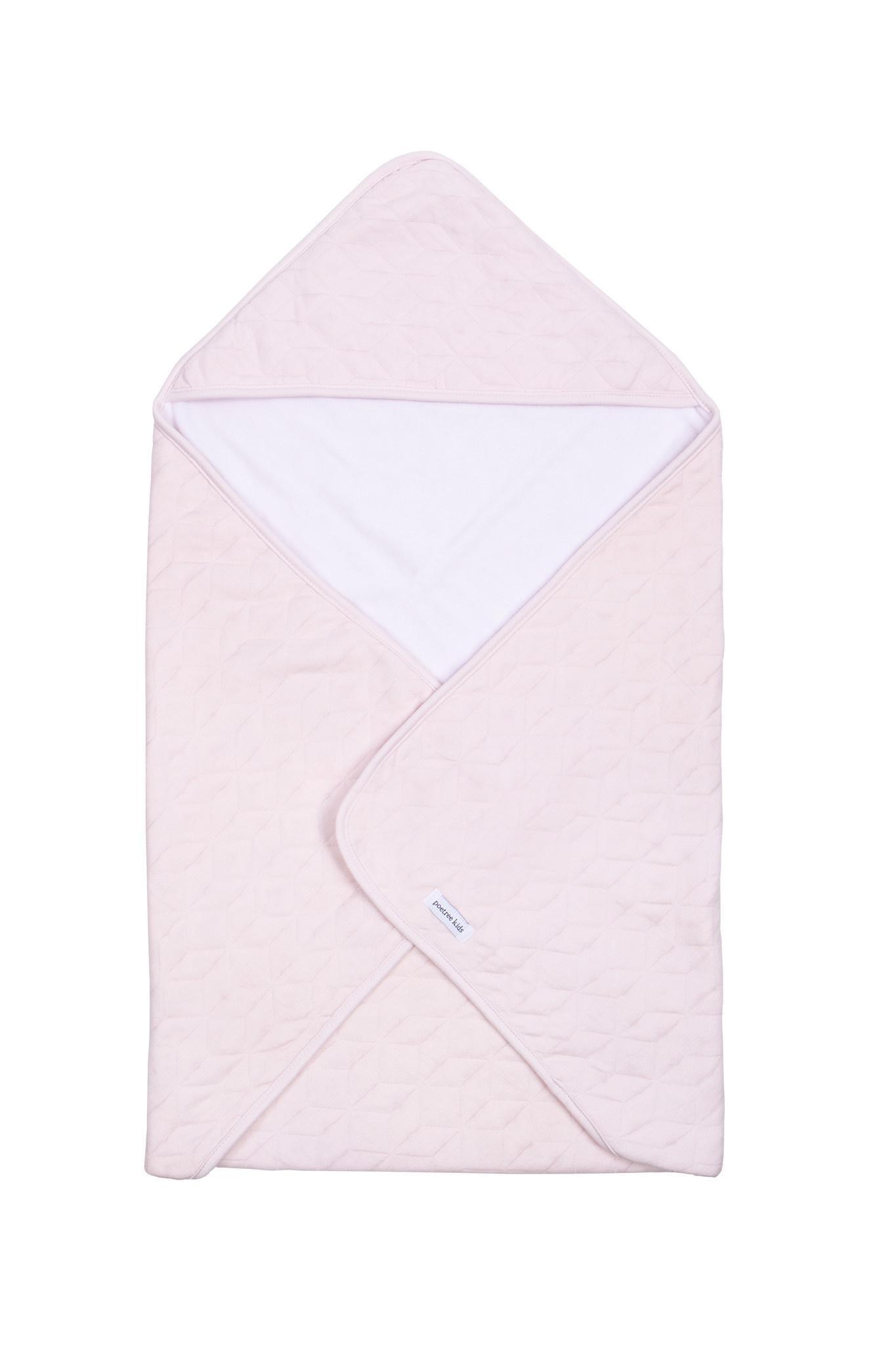 Wikkeldeken Star Soft Pink-4