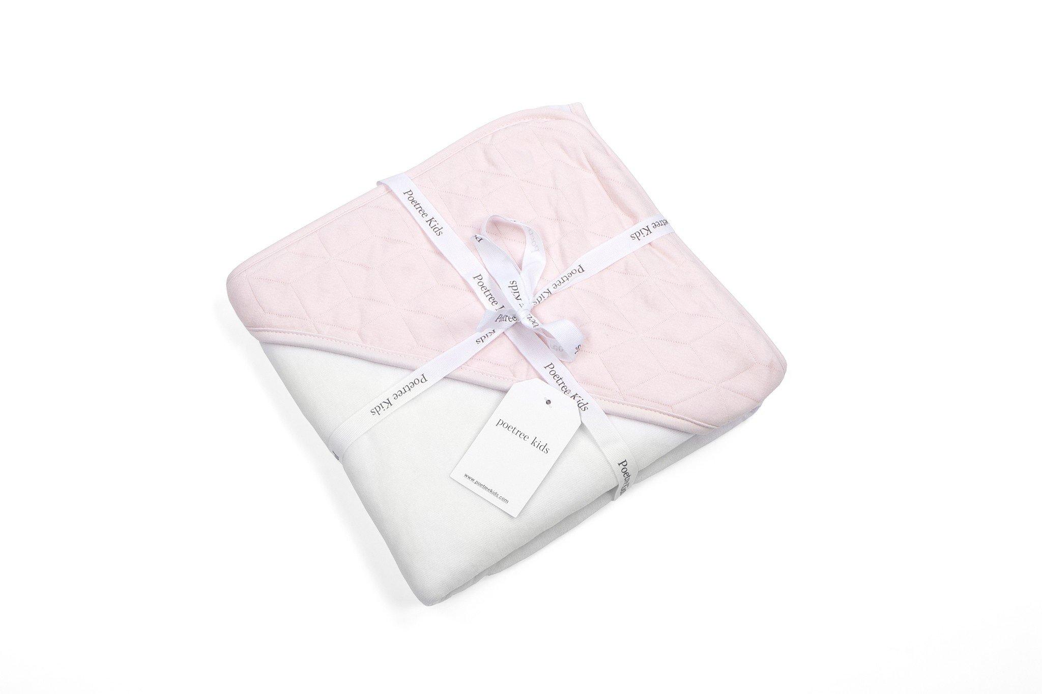 Wikkeldeken Star Soft Pink-5