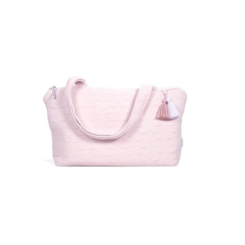 Nursery bag Star Soft Pink-6