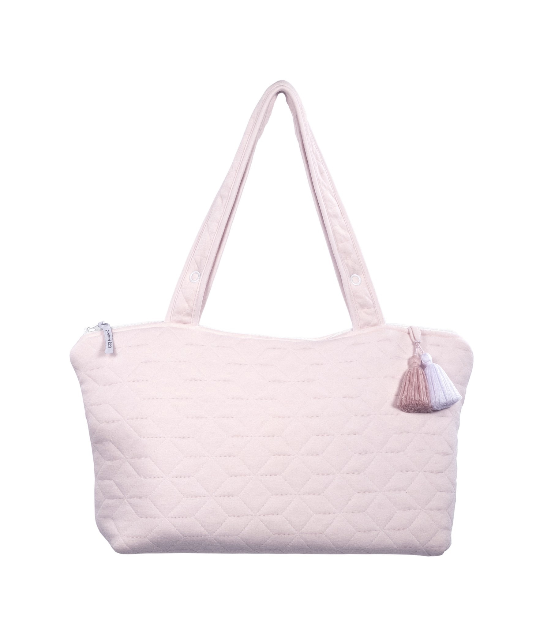 Nursery bag Star Soft Pink-8