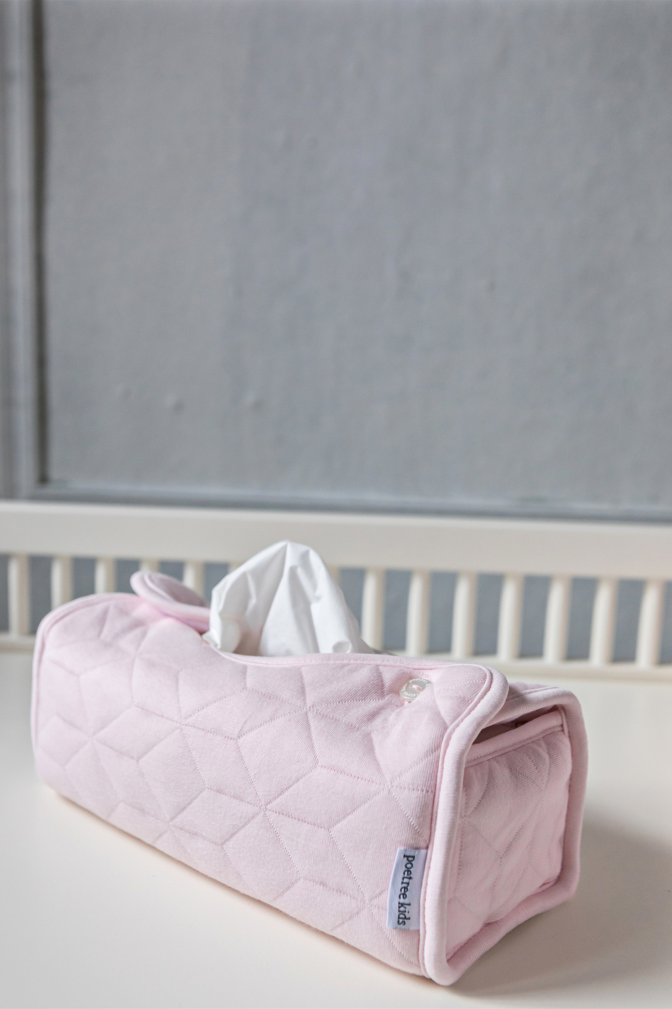 Kleenex Box Cover Star Soft Pink-6