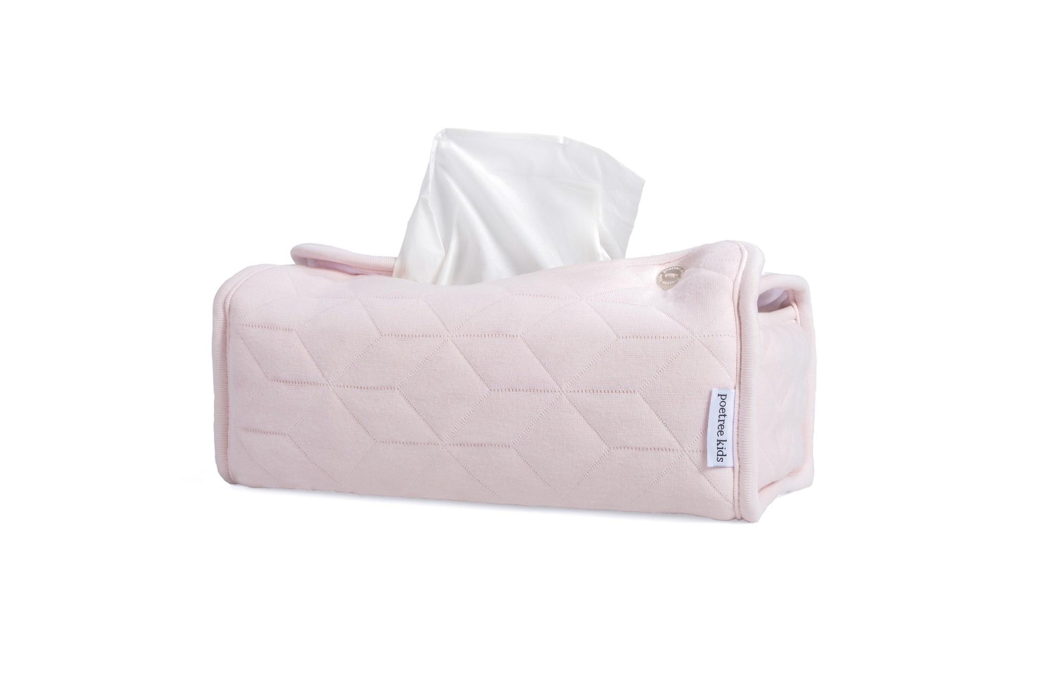 Kleenex Box Cover Star Soft Pink-8