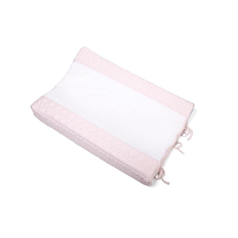 Aankleedkussenhoes Star Soft Pink-6