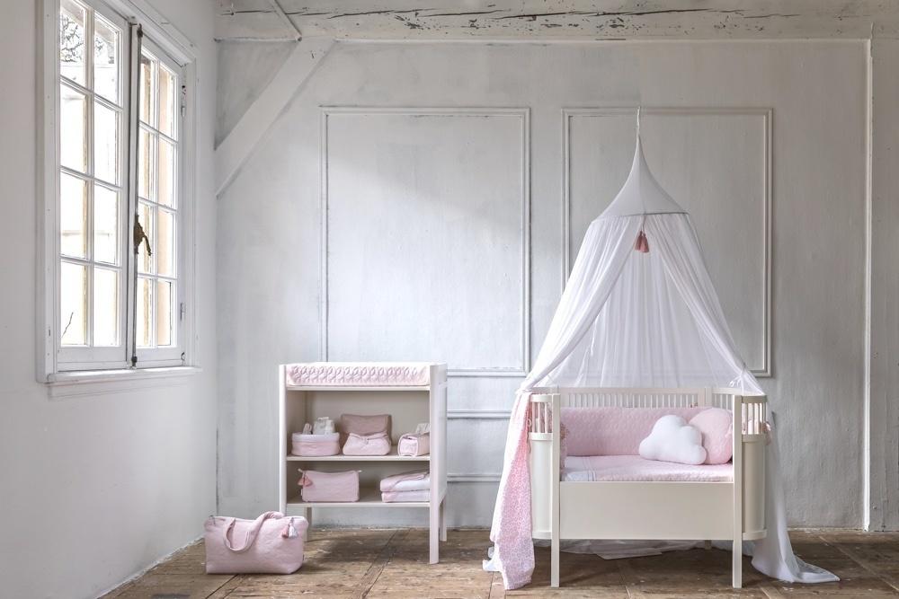 Aankleedkussenhoes Star Soft Pink-8