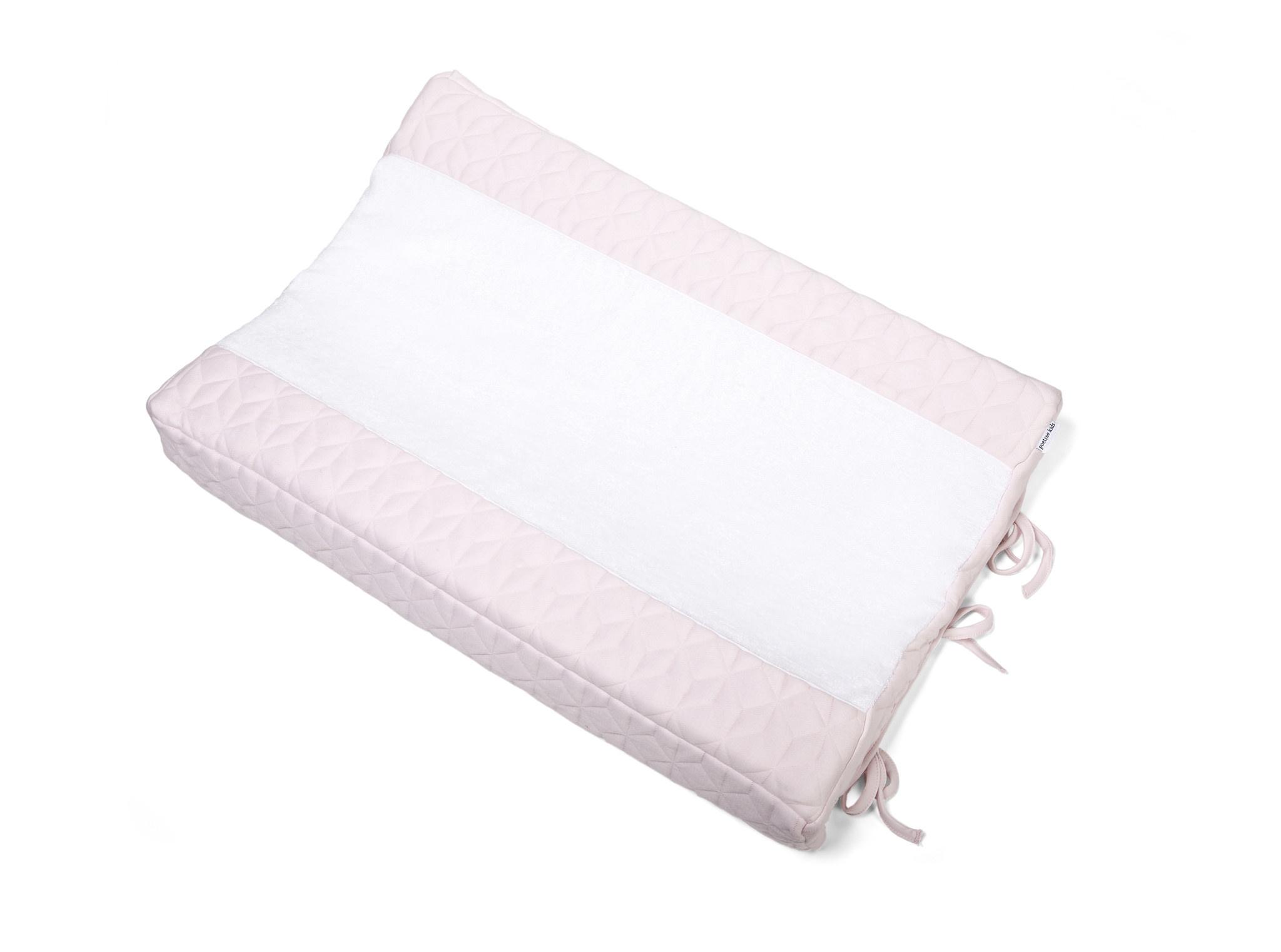Aankleedkussenhoes Star Soft Pink-10