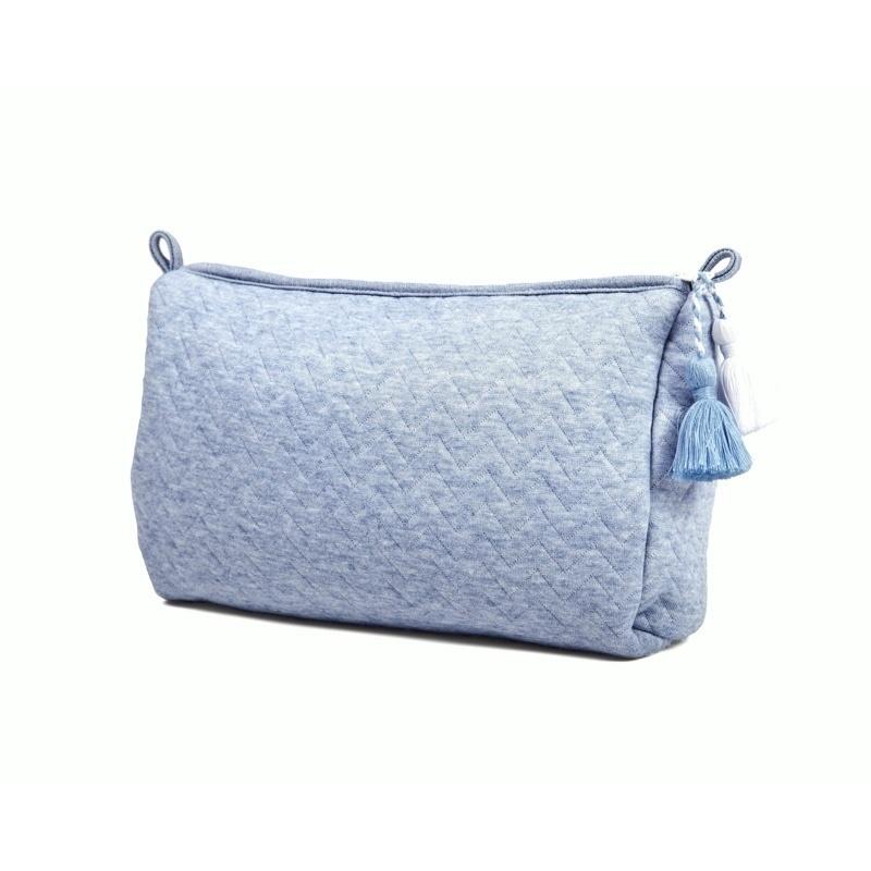 Gift set Chevron Denim Blue with white-6