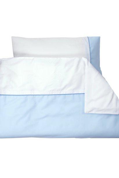 Housse de Couette & Taie d'oreiller Oxford Blue