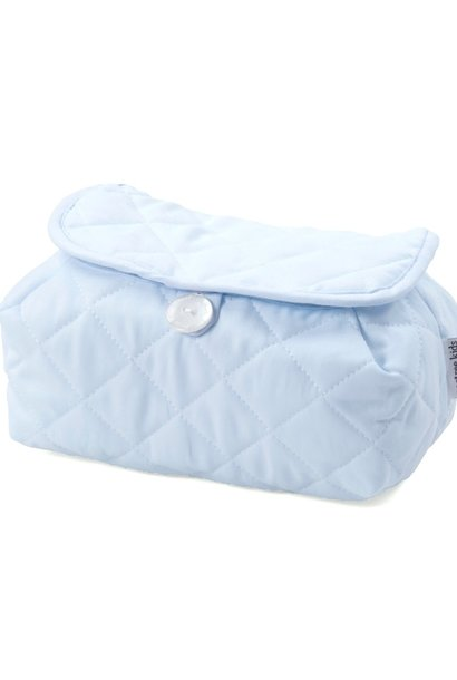 Housse de lingettes pour bébé Oxford Blue