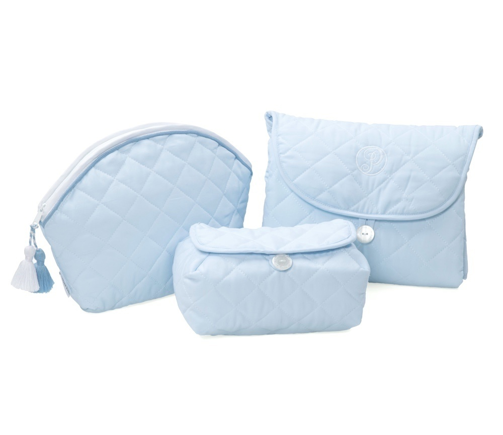 Baby wipes cover Oxford Blue-3
