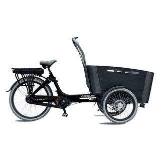 Vogue Carry 3 elektrische Bakfiets 7V (481Wh) Zwart-Grijs