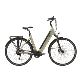 Qwic Premium I MD9 e-bike dames Timber Green