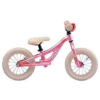 Loekie Prinses meisjes loopfiets 12 inch Roze