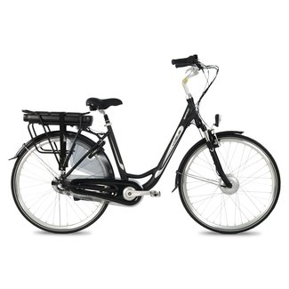 Vogue Basic e-bike dames 3V Mat Zwart