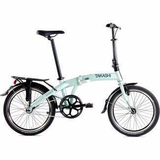 Takashi vouwfiets Single 20 inch Groen