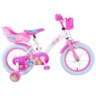 Disney Princess meisjesfiets 14 inch roze