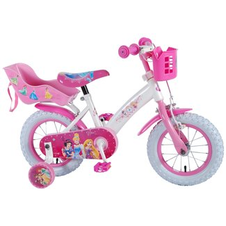 Disney Princess meisjesfiets 12 inch roze Poppenzitje