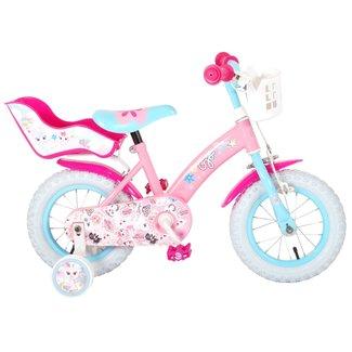 OJO meisjesfiets 12 inch roze