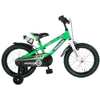 Kawasaki jongensfiets 16 inch groen