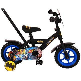 Spider Man Batman jongensfiets 10 inch Zwart