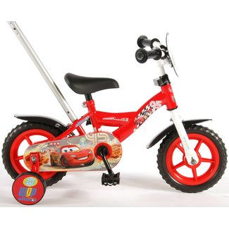 Disney Cars jongensfiets 10 inch rood