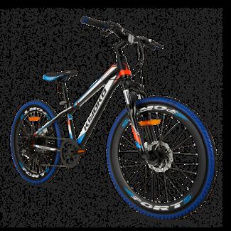 Kiyoko Mountainbike 24 inch 6V Blauw
