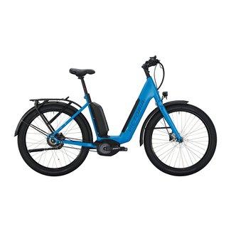 Victoria eUrban 13.9 e-bike dames Mat Blauw Bosch 500Wh