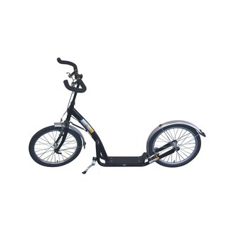 Bike 2 Go City Roller Uni 20 inch zwart