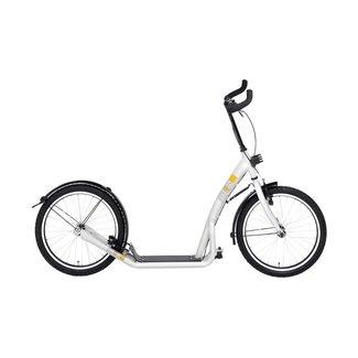 Bike 2 Go City Roller Uni 20 inch wei
