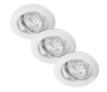 Lightexpert.nl LED Inbouwspots Murillo 3 Pack 3,3W - Wit