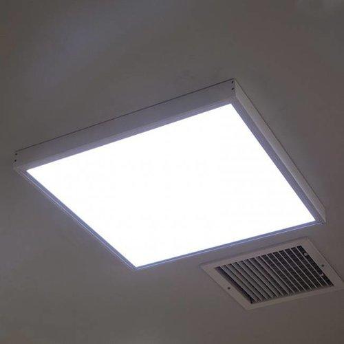 Lightexpert LED Paneel Opbouw - Staal - 60x60
