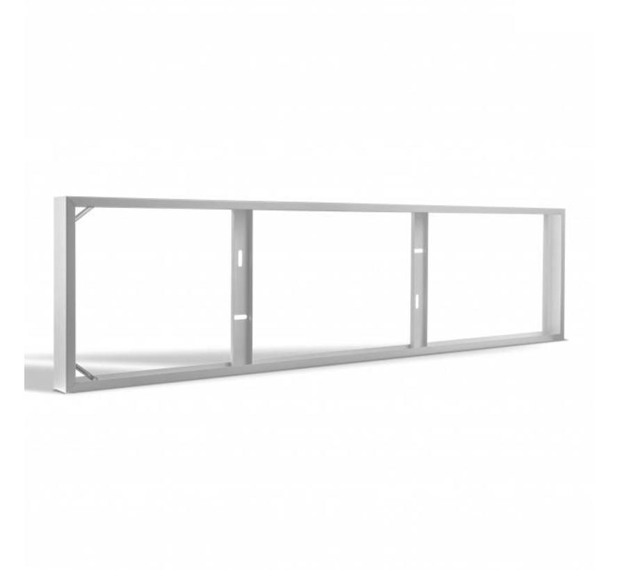 LED Paneel Opbouw - Staal - 120x30